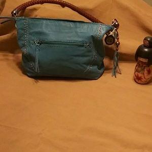 The Sak. Turquoise purse